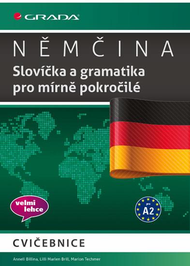 Němčina - Slovíčka a gramatika pro mírně pokročilé A2 - Anneli Billina a kolektiv