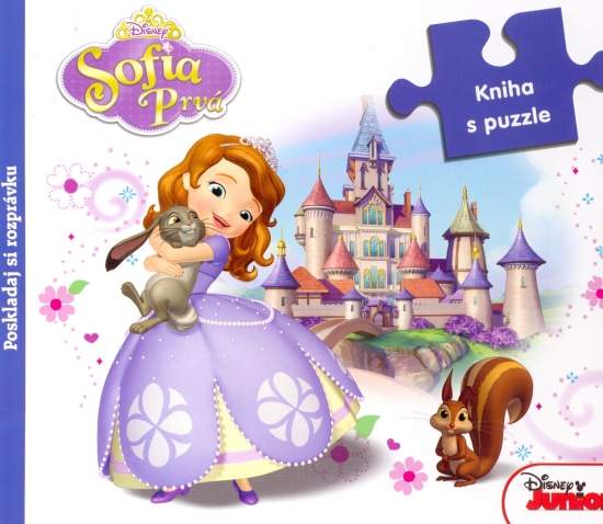 Sofia Prvá. Kniha s puzzle