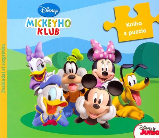 Mickeyho klub. Kniha s puzzle