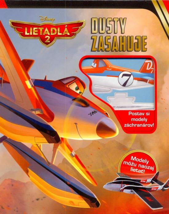 Lietadlá 2 - Dusty zasahuje-Postav si modely záchranárov!