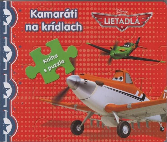 Lietadlá - kniha s puzzle