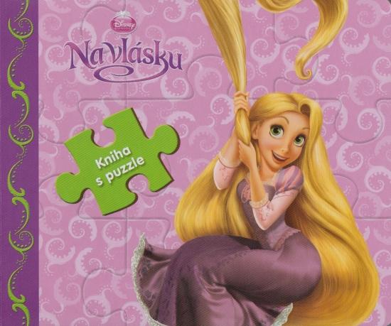 Na vlásku - Kniha s puzzle