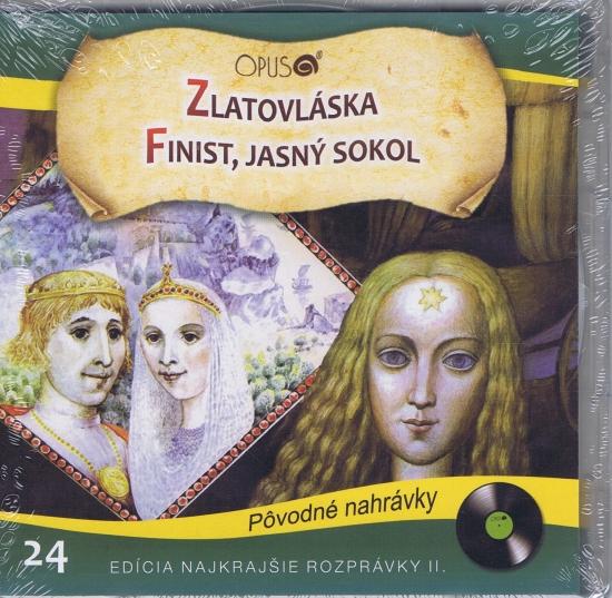 CD - Najkrajšie rozprávky 24 - Zlatovláska, Finist jasný sokol
