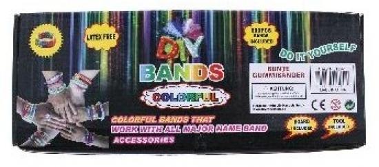 Gumičky Loom bands STARTER SET,600 ks