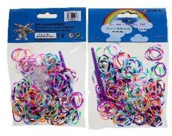 Náhradné gumičky, 2 farebné, 200 ks