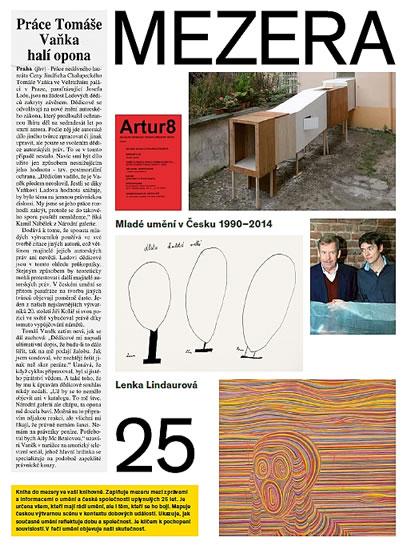 Mezera - Mladé umění v Česku (1990- 2014) - Lenka Lindaurová a kolektiv