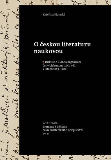 O českou literaturu naukovou - Kateřina Piorecká