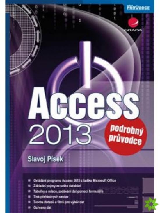 Access 2013 - Podrobný průvodce