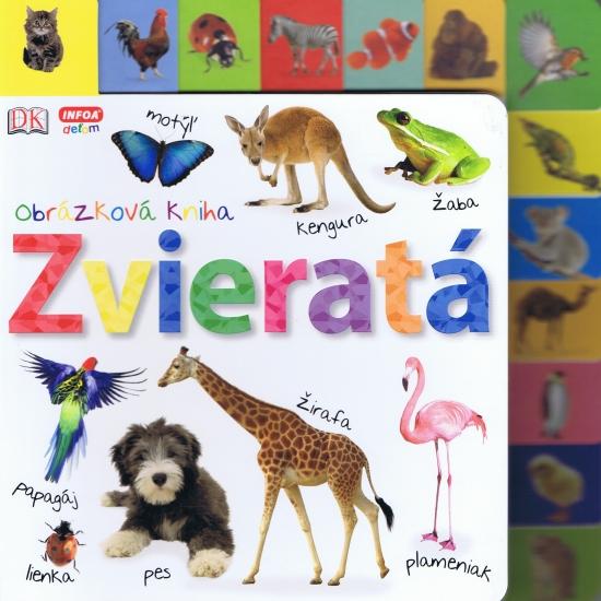 Obrázková kniha - Zvieratá