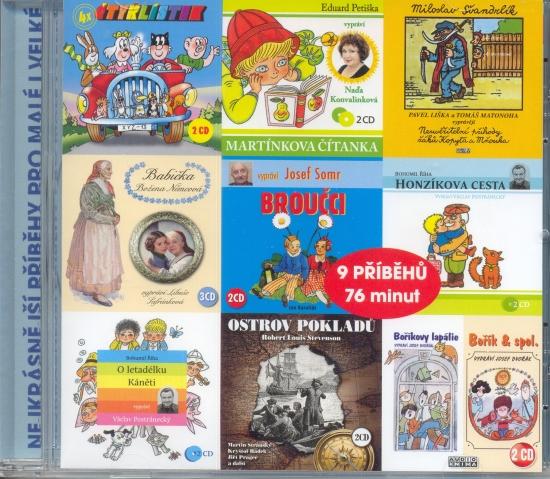 CD - Nejkrásnější příběhy pro malé i velké
