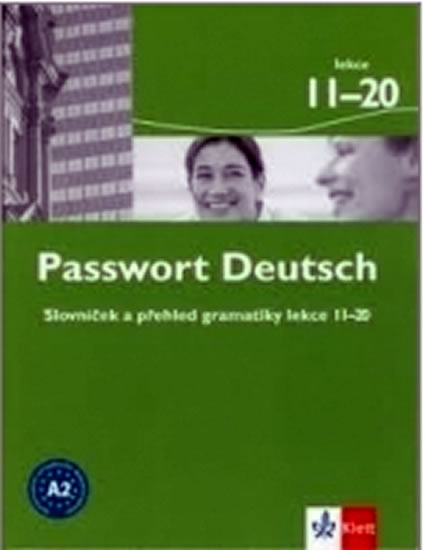 Passwort Deutsch 11-20 - Slovníček a přehled gramatiky - U. Albrecht, D. Dane, Ch. Fandrych