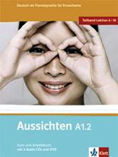 Aussichten A1.2 Kurs-und Arbeitsbuch + CD + DVD - L. Ros - El Hosni a kolektív