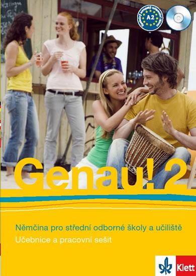 Genau! 2 - Němčina pro SOŠ a učiliště (Učebnice + PS + 2CD) - Tlustý P. Tkadlečková C.,