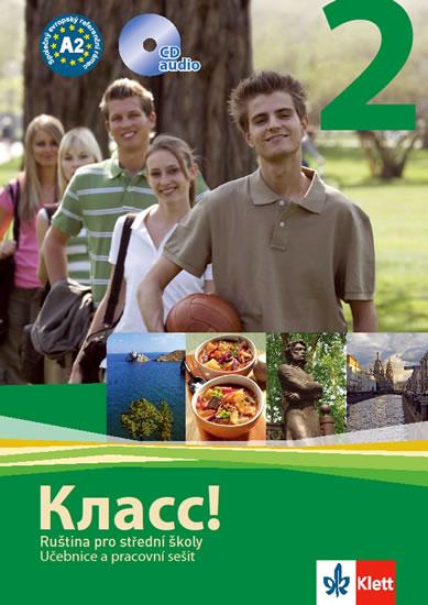 Klacc! 2 - Ruština pro SŠ - Učebnice + PS + 2CD - a kolektiv N. Orlova