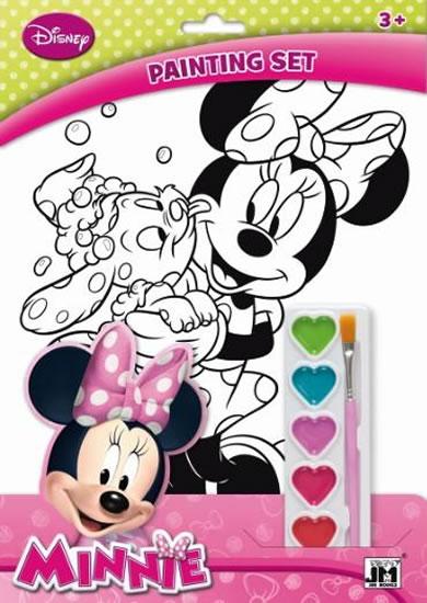 Minnie - Omalovánkové sety A4