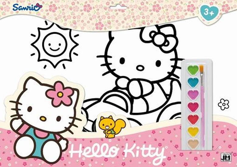Hello Kitty - Omalovánkové sety