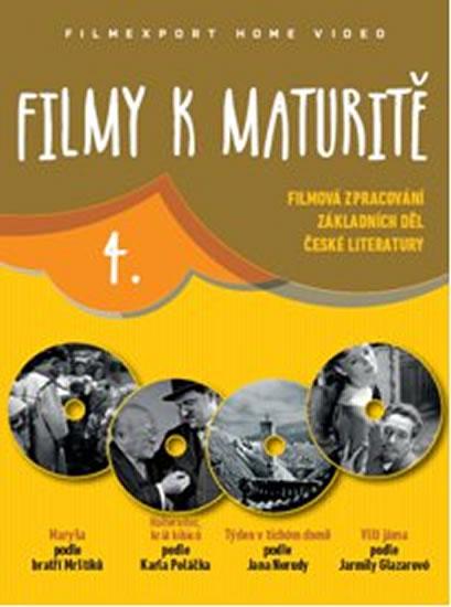 Filmy k maturitě 4 - 4 DVD (digisleeve)