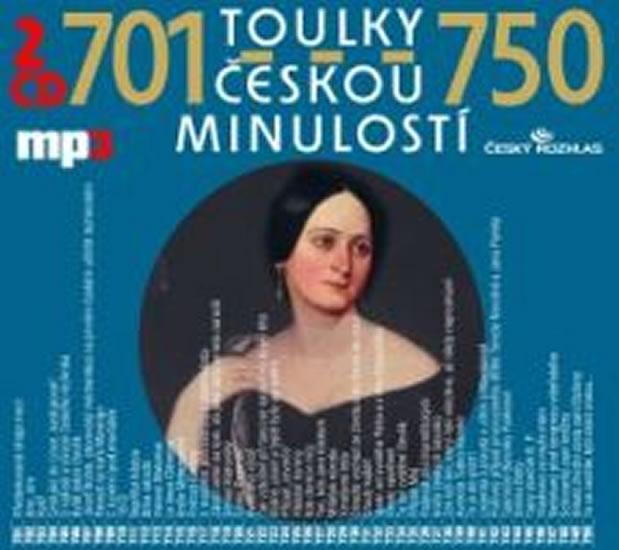 Toulky českou minulostí 701-750 - 2CD/mp3