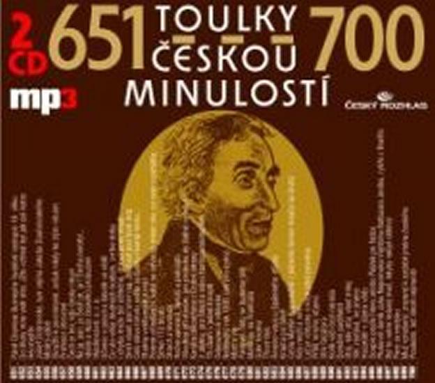 Toulky českou minulostí 651-700 - 2CD/mp3