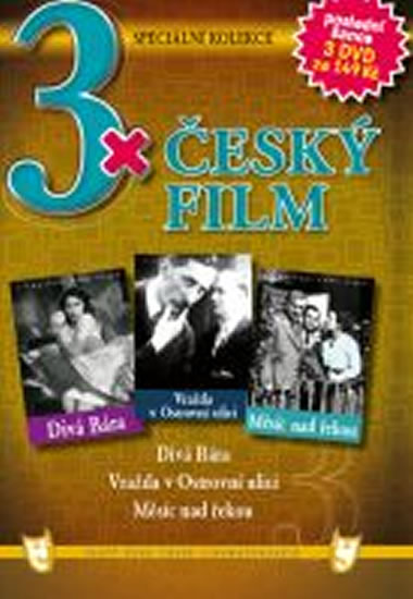 3x DVD - Český film