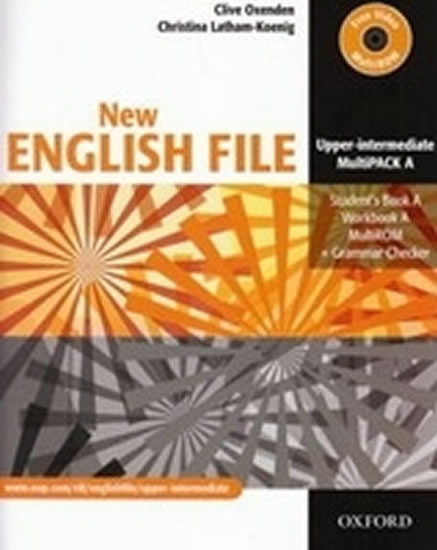 New English File Upper Intermediate Multipack A - Christina, Clive Oxenden, Latham-Koenig