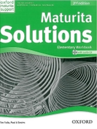 Maturita Solutions 2nd Edition Elementary Workbook with Audio CD CZEch Edition - Paul A., Tim Falla, Davies