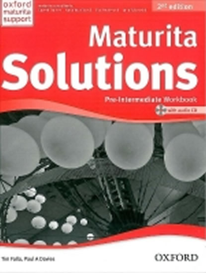 Maturita Solutions Pre-Intermediate Workbook 2nd Edition with audio CD pack CZ - Paul A., Tim Falla, Davies