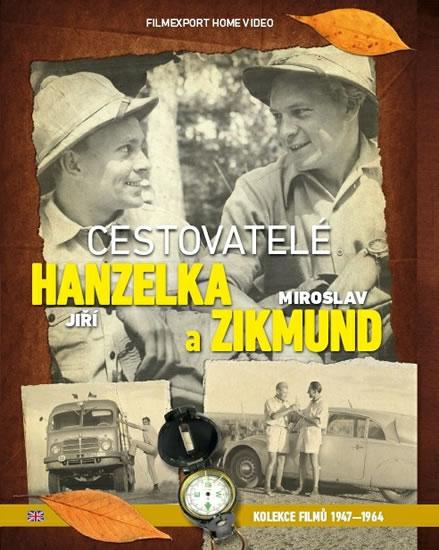 Cestovatelé Zikmund a Hanzelka - kolekce 9 DVD