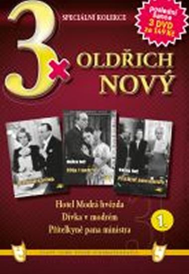 3x DVD - Oldřich Nový 1.