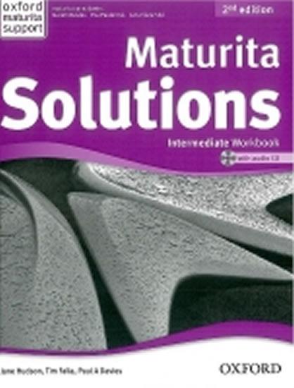Maturita Solutions 2nd Edition Intermediate Workbook with Audio CD CZEch Edition - Paul A., Tim Falla, Davies