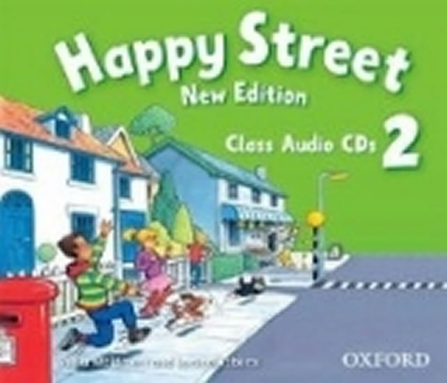 Happy Street New Edition 2 Class Audio 2 CDs - Stella Maidment