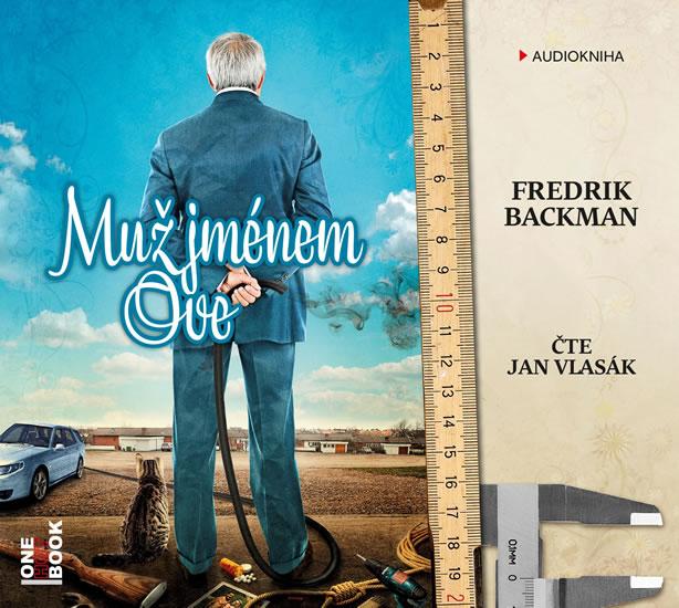 Muž jménem Ove - CD mp3 (čte Jan Vlasák) - Fredrik Backman