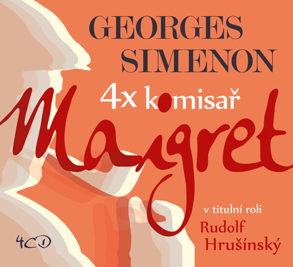 4x komisař Maigret - 4CD