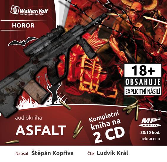 Asfalt - 2 CDmp3 (Čte Ludvík Král)