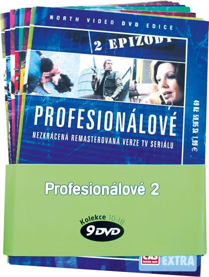 Profesionálové 2. - kolekce 9 DVD
