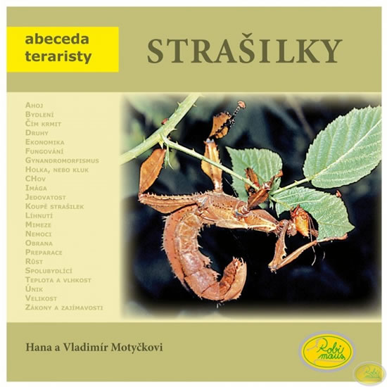 Strašilky - Abeceda teraristy - Hana a Vladimír Motyčkovi