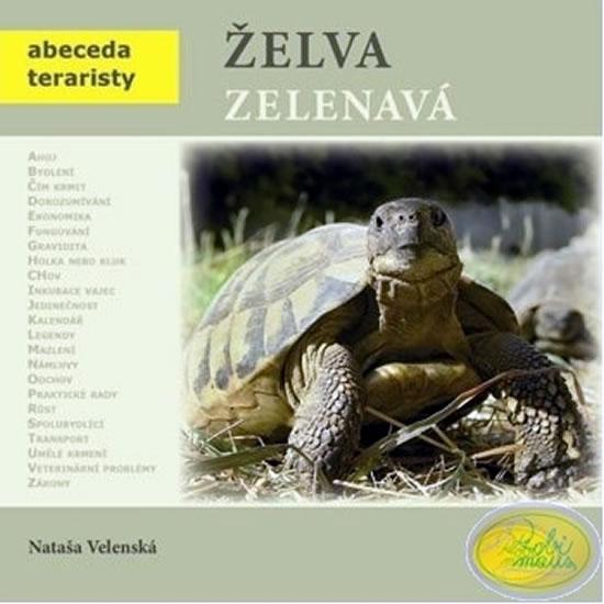 Želva zelenavá - Abeceda teraristy - 2. vydání - Nataša Velenská
