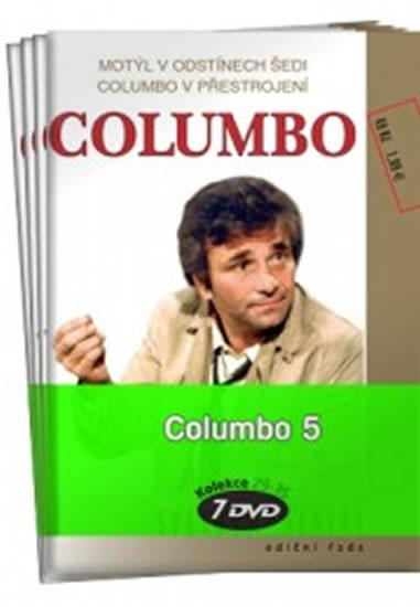 Columbo 5. - 29 - 35 / kolekce 7 DVD