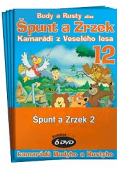Špunt a Zrzek 2. - kolekce 6 DVD