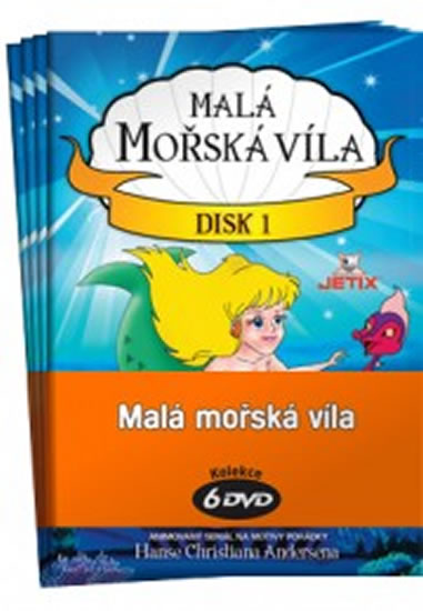 Malá mořská víla 1 - 6 / kolekce 6 DVD