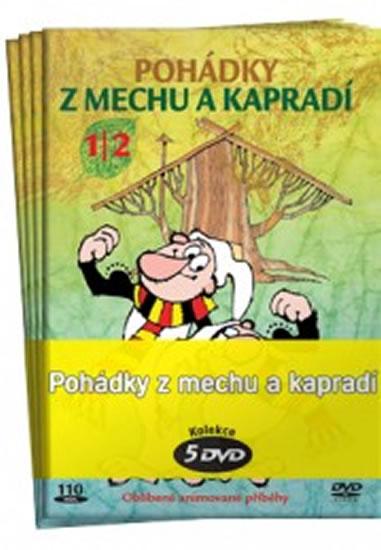Pohádky z mechu a kapradí - kolekce 5 DVD - Zdeněk Smetana