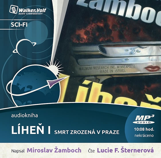 Líheň I. - Smrt zrozená v Praze - CDmp3 (Čte Lucie Šternerová)