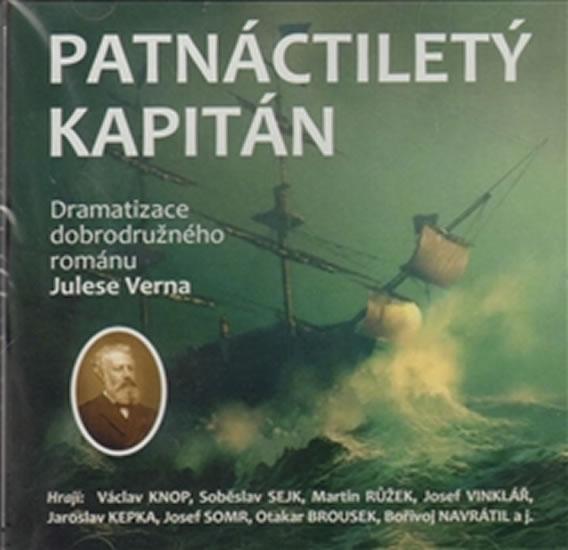 Patnáctiletý kapitán - CD - Jules Verne