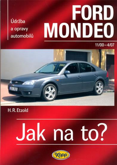 Ford Mondeo - 11/2000-4/2007 - Jak na to? - 85. - Hans-Rudiger Dr. Etzold