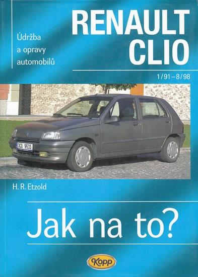 Renault Clio - 1/91 - 8/98 - Jak na to? - 36. - Hans-Rudiger Dr. Etzold
