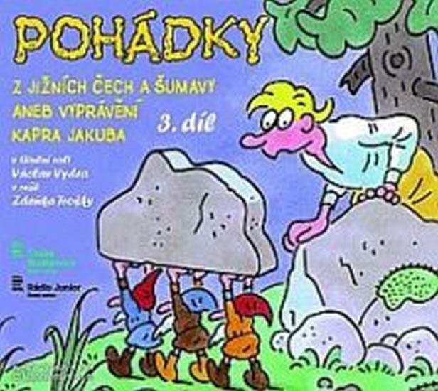 Pohádky z Jižních Čech a Šumavy aneb Vyprávění kapra Jakuba 3 - CD