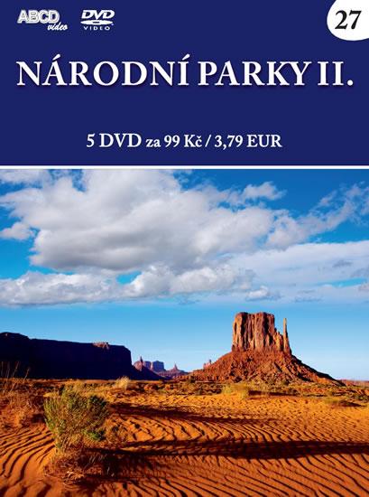 Národní parky II - 5 DVD