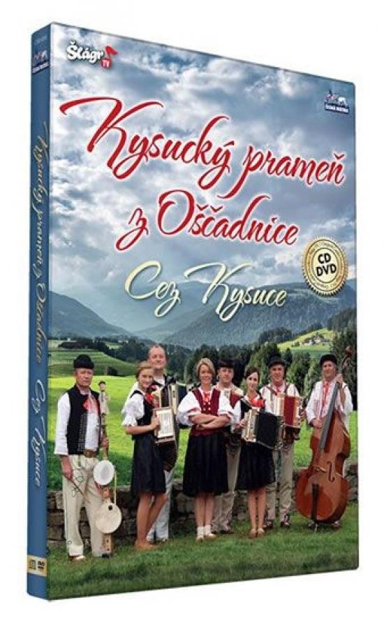 Kysucký prameň z Oščadnice - Cez Kysuce - CD+DVD