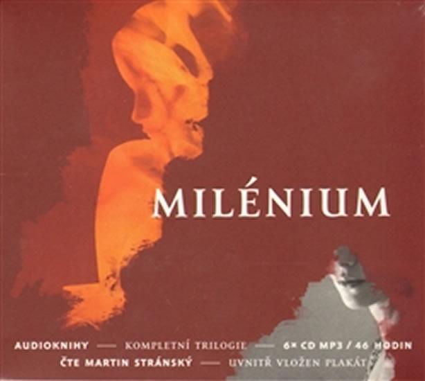 Milénium - kompletní trilogie - 6CD (Čte Martin Stránský) - Stieg Larsson