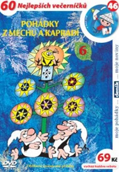 Pohádky z mechu a kapradí 6. - DVD - Zdeněk Smetana